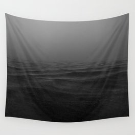 Chaos B&W Wall Tapestry