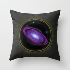 Space Travel - Painting Throw Pillow