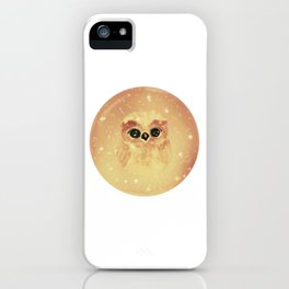 baby owl white iPhone Case
