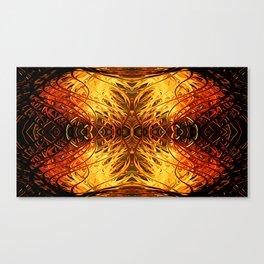 Pumpkin Pearl Sea Fan by Chris Sparks Canvas Print