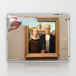 Blue is the Sky: Contemplation Laptop & iPad Skin