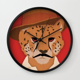 Cheetah Singh. Wall Clock