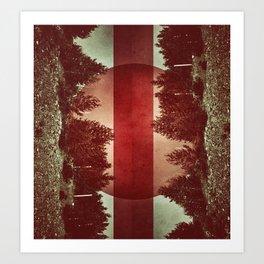treed Art Print