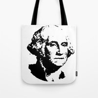washington Tote Bags featuring WASHINGTON by b & c