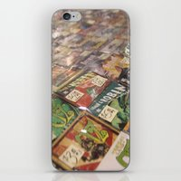 comics iPhone & iPod Skins featuring Comics by 1000 Words