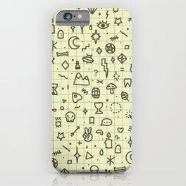 Doodles Pattern iPhone Case