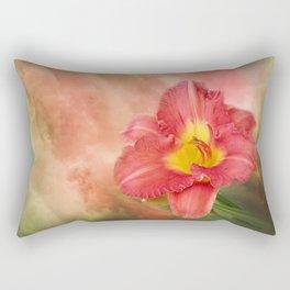 Beautiful day lily Rectangular Pillow