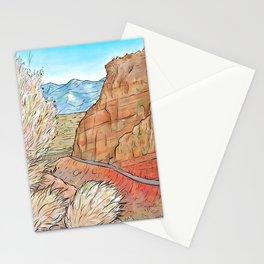 Colorado National Monument Desert Landscape Stationery Cards