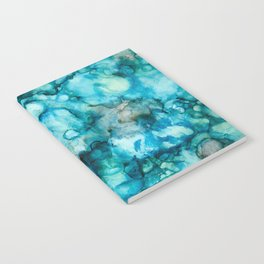 Blue Abstract Notebook