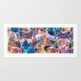 Colorful mood Art Print