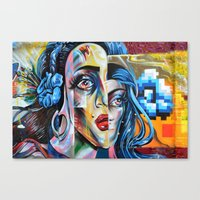 madonna Canvas Prints featuring Madonna by Robin Curtiss