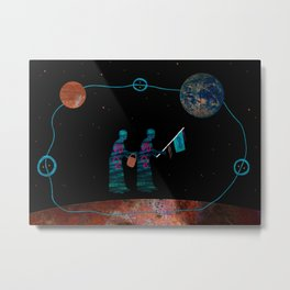Our Grandmothers Carry Water from the Other World Metal Print