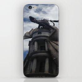 Diagon Alley Dragon iPhone Skin