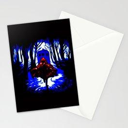 Shadow Light Of Tardis Stationery Cards