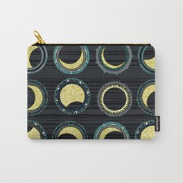 solar eclipse mandala Carry-All Pouch