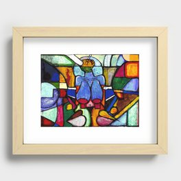 2023 Rise Aware Seen Without Sight by  Marcellous Lovelace Recessed Framed Print