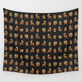 Ginger Bread Man Reinders Rudolf Cookies Chocolates Box Wall Tapestry