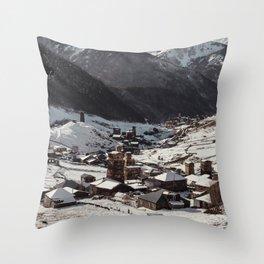 Svaneti Throw Pillow
