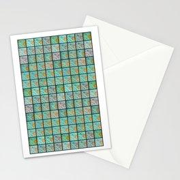 FISHING NET MOSAIC (everyday 26.01.2017) Stationery Cards