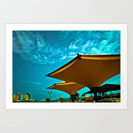 Blue Skies Art Print
