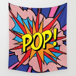 Drawing Pop Image Wall Tapestry
