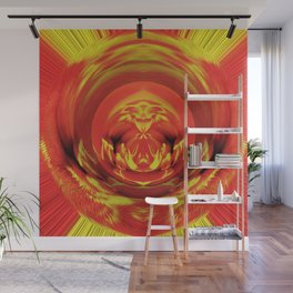 Marigold Fluff And Fold  v.1 Wall Mural