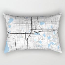 City of Orlando, Florida Rectangular Pillow