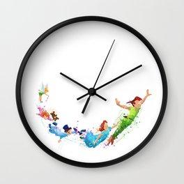 Peter pan Wall Clock