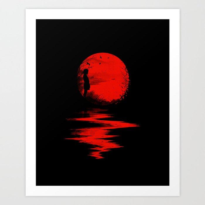 The Land of the Rising Sun Art Print