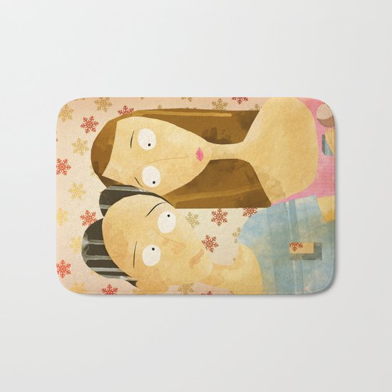 Lovers Bath Mat