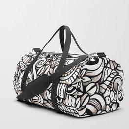coffee doodle Duffle Bag