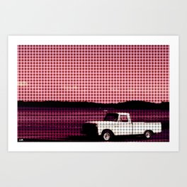 A Classic By The Lake Art Print