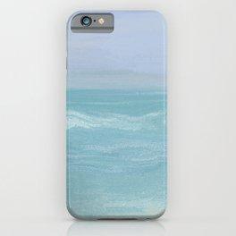 Seashore Chopy Waves iPhone Case
