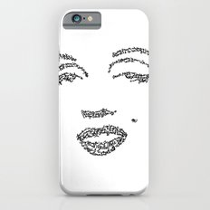 Marilyn Monroe WordsPortrait iPhone 6s Slim Case
