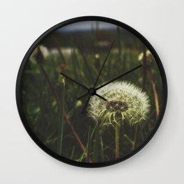 Field of Wishes Wall Clock