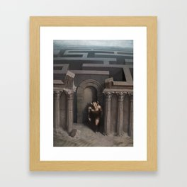 The House Of Asterion Framed Art Print