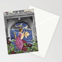 THE HIGH PRIESTESS TAROT CARD Stationery Cards