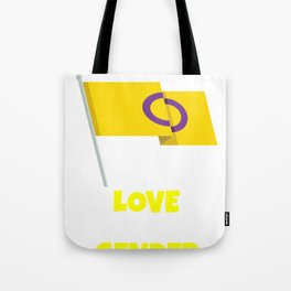 Love is Genderless Tote Bag