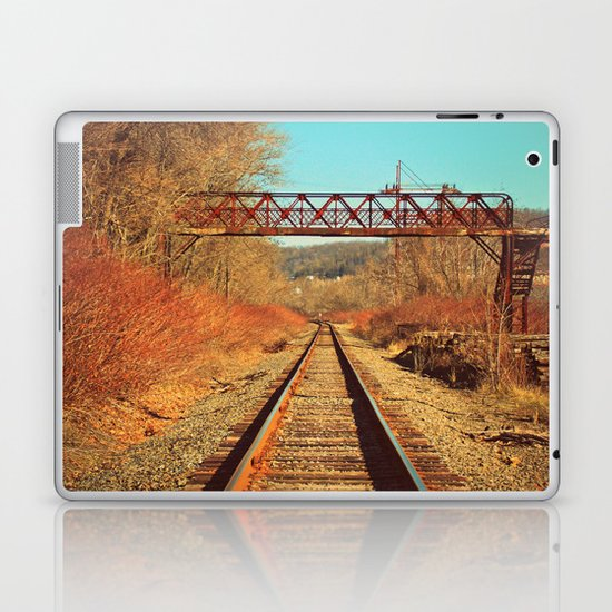 On The Right Track Laptop & iPad Skin