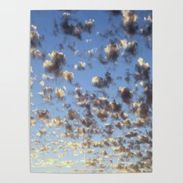 Summer Sunrise Clouds Poster