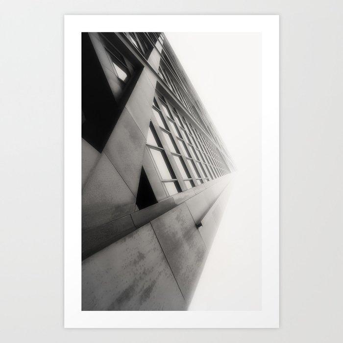 Building Fade Art Print