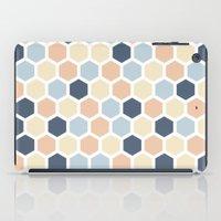 honeycomb iPad Cases featuring Honeycomb by 603 Creative Studio