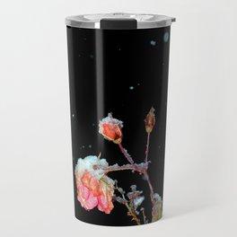Falling Roses Travel Mug