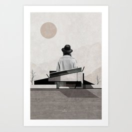 Over the hills and far away ... Art Print