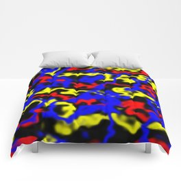 Red, Yellow, Blue Comforters