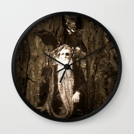 Oberon King of the Wood Faires Wall Clock