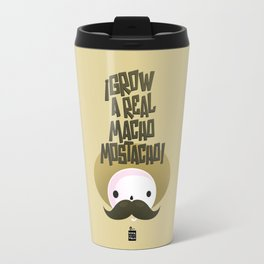 macho mostacho  Travel Mug