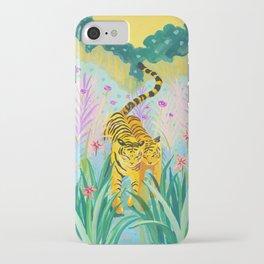 Tigers in Garden iPhone Case
