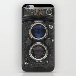Vintage Camera (Yashica  124 G) iPhone Skin