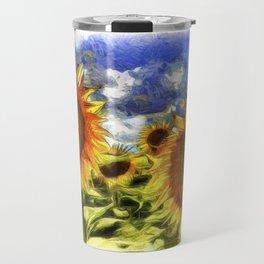 Sunflowers Vincent Van Goth Travel Mug